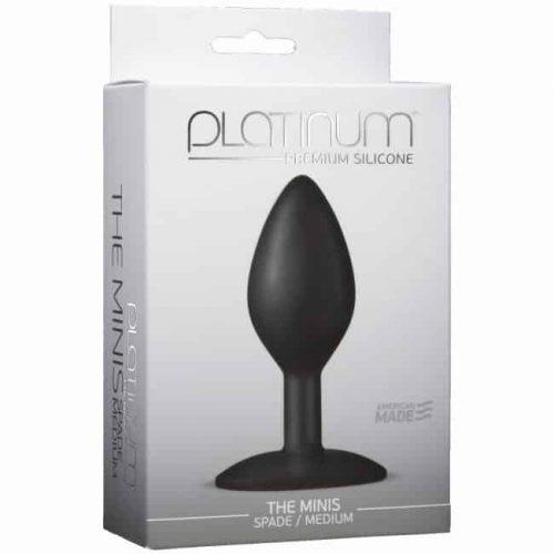 PLATINUM MINIS SPADE MEDIUM BLACK