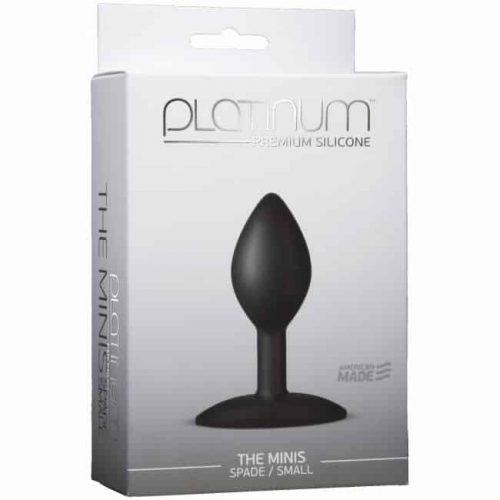 PLATINUM MINIS SPADE SMALL BLACK