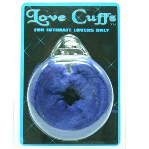 PLUSH LOVE CUFFS BLUE