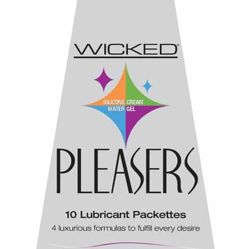 WICKED PLEASERS 10PC PACKETS