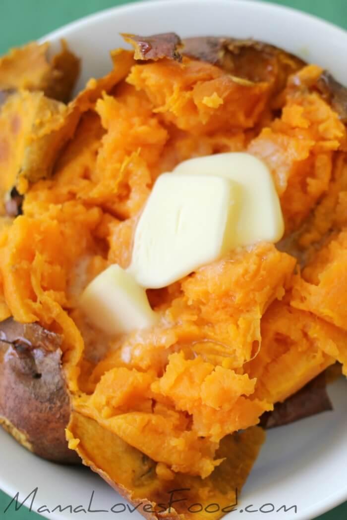 how long to bake a sweet potato