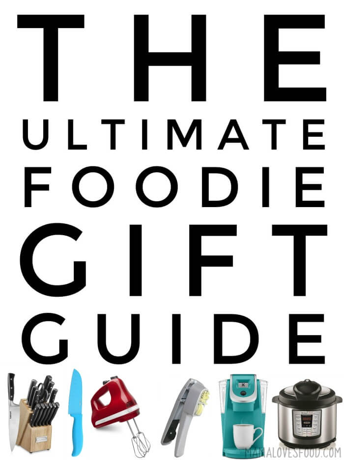 ULTIMATE FOODIE GIFT GUIDE