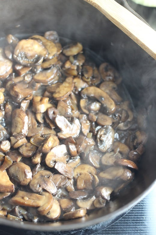 Spinach and Mushroom Grits Recipe