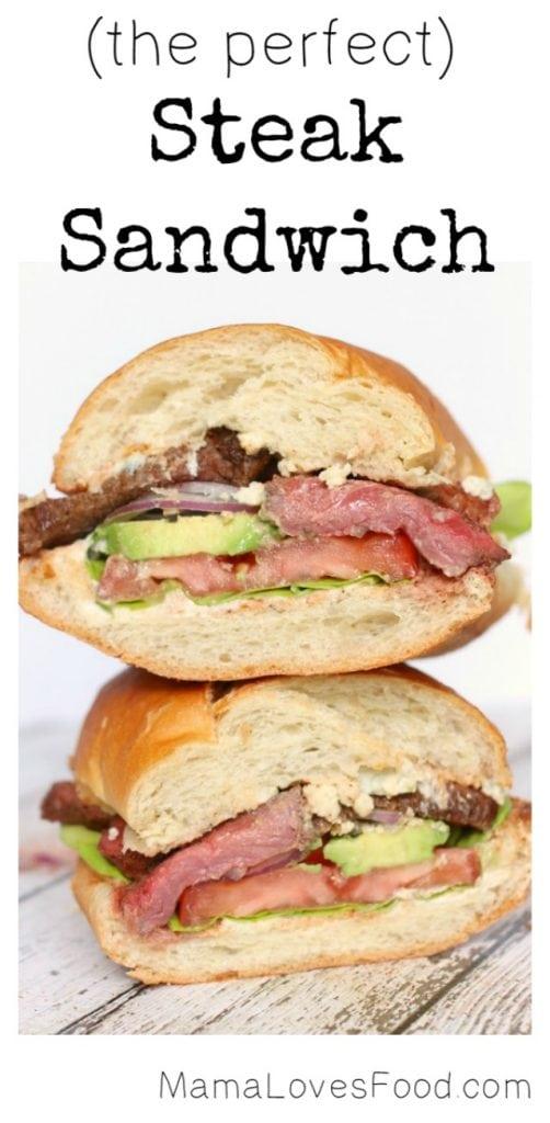 The Perfect Steak Sandwich!