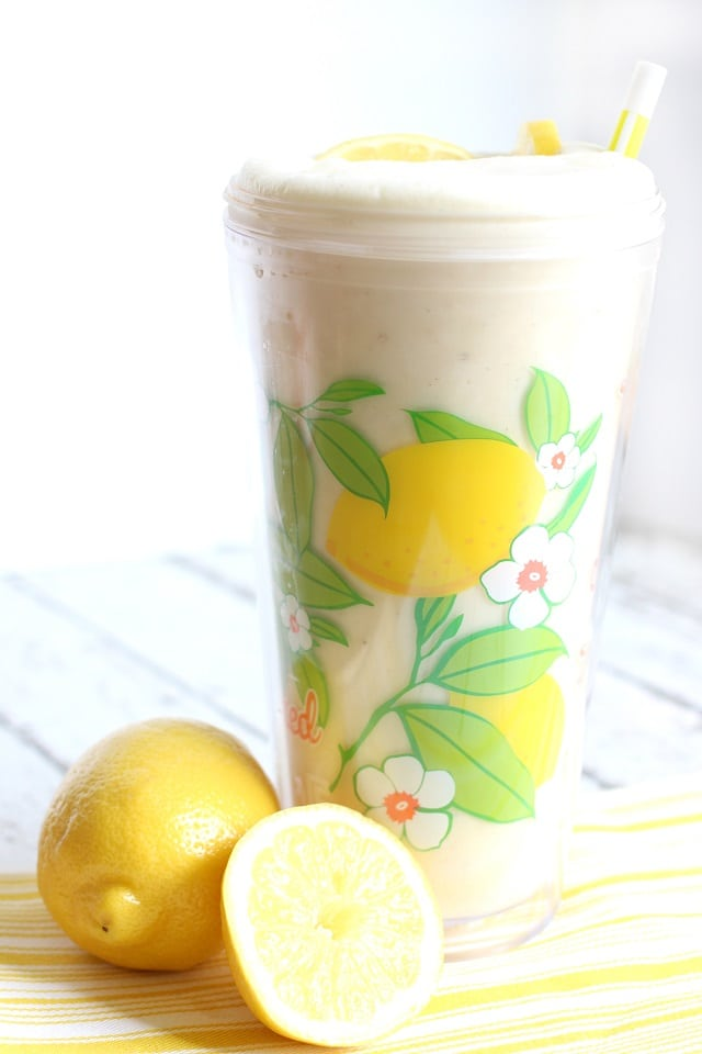 Frosted Lemonade copy cat recipe from Chick fil A