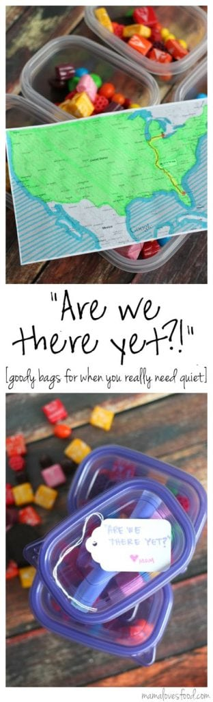 """""""Are We There Yet?!"""" Road Trip Emergency Packs!"""