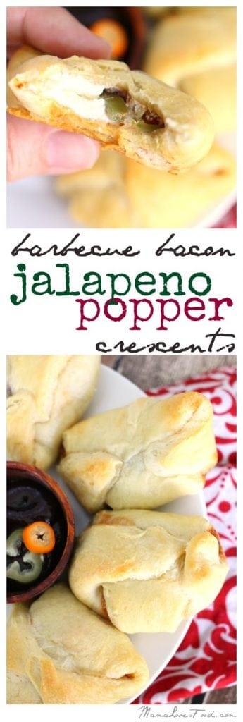 Barbecue Bacon Jalapeno Popper Crescent Recipe