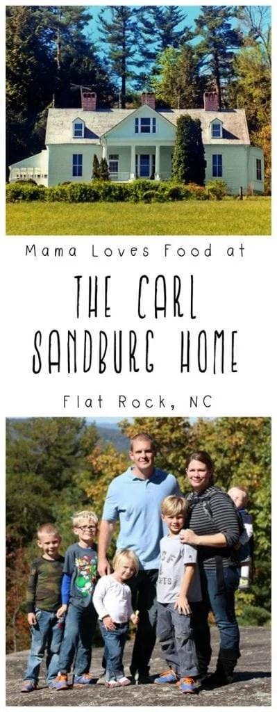 The Carl Sandburg Home and Glassy Mountain, Asheville NC