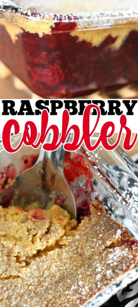 RASPBERRY COBBLER RECIPE