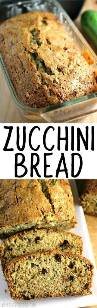 BEST ZUCCHINI BREAD