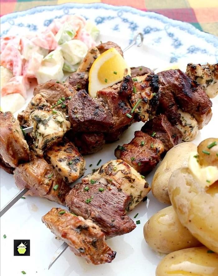 Meat Lovers Kebabs