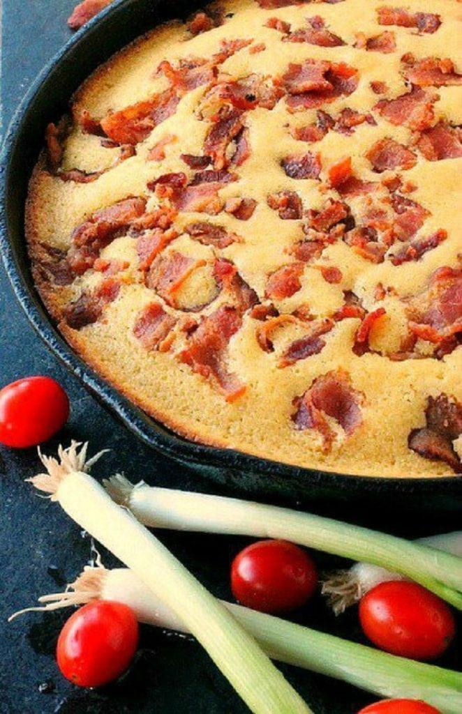Buttermilk Bacon Cornbread