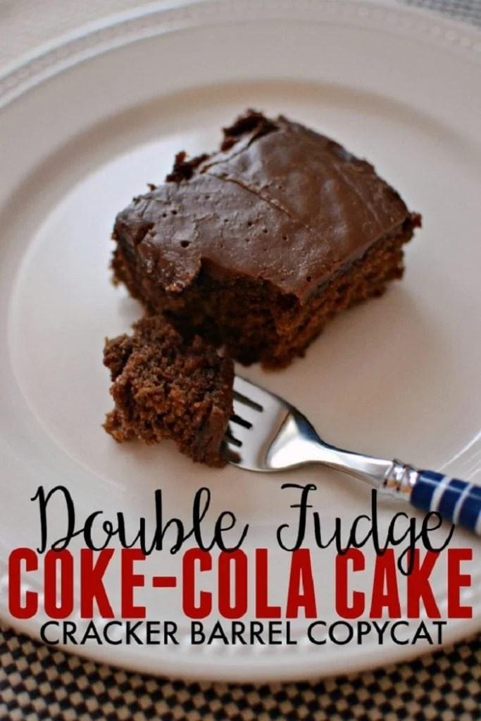 Copycat Cracker Barrel Coca Cola Cake