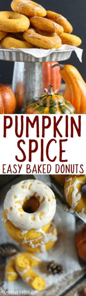 Easy Baked Pumpkin Spice Donut Recipe