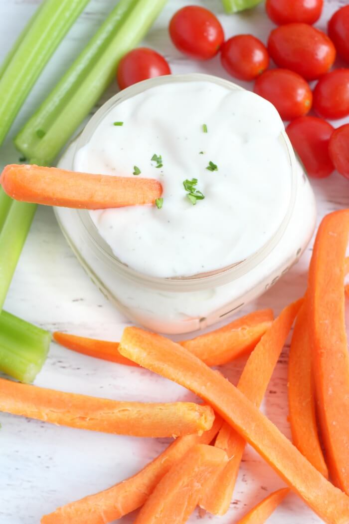 HOW TO MAKE RANCH DRESSING