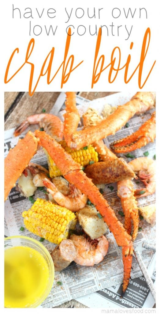 low country crab boil