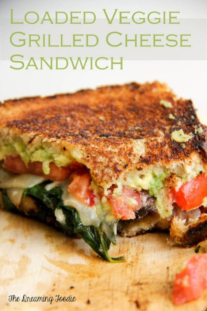 Loaded Veggie Grilled Cheese