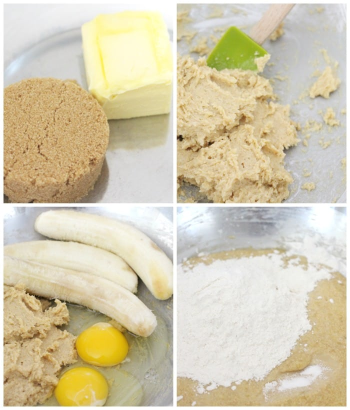 how to make banana bread step by step