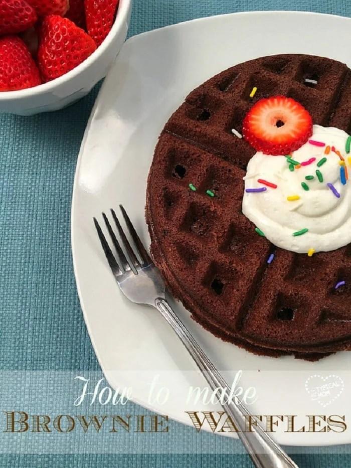 Brownie Waffles