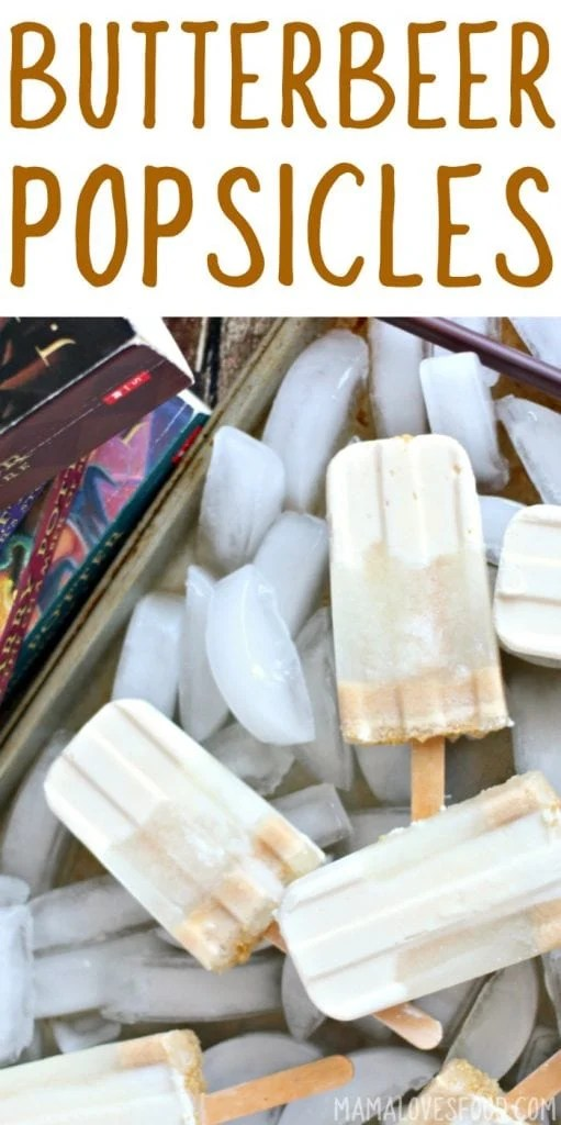 Frozen Butterbeer Popsicles Recipe - How to Make Butterbeer Popsicles