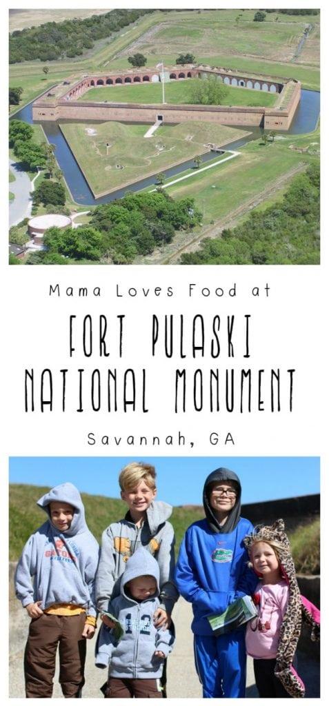 Visiting Fort Pulaski National Monument in Savannah Georgia