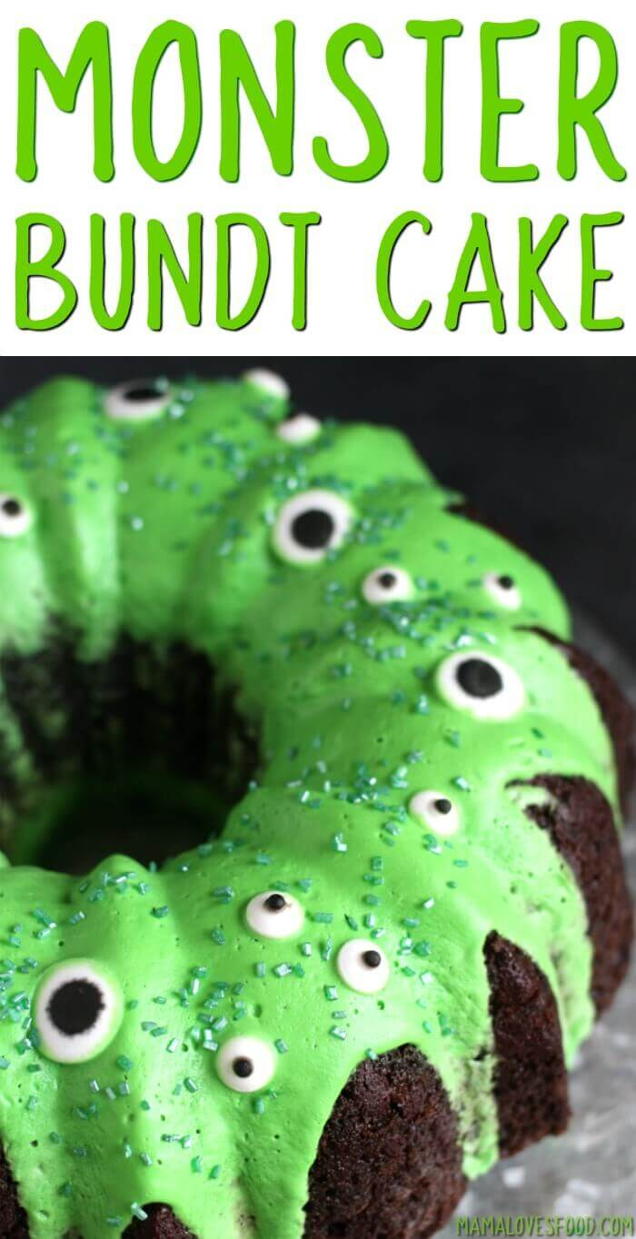 Easy Monster Bundt Cake