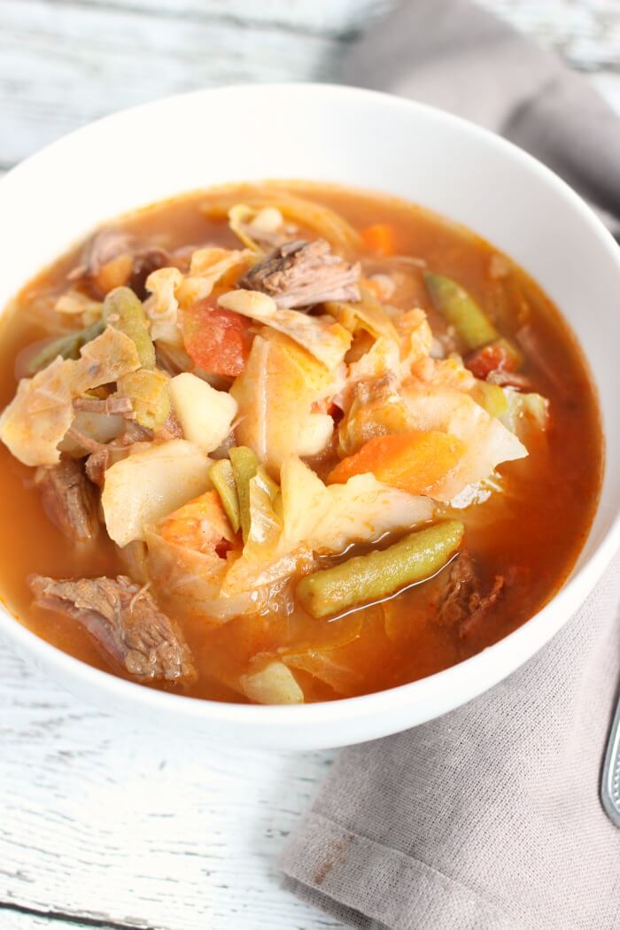 cabbage soup in the instapot