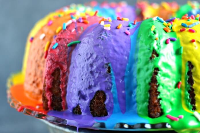 RAINBOW CAKE IDEAS