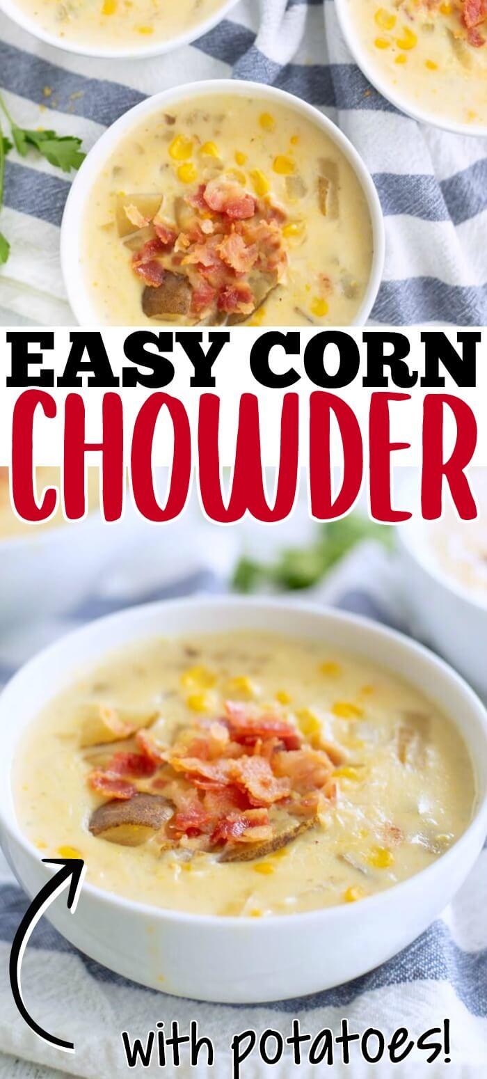 EASY CORN CHOWDER