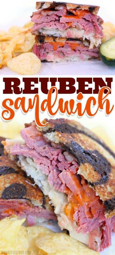 EASY REUBEN SANDWICH