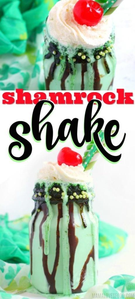 HOW TO MAKE A SHAMROCK SHAKE
