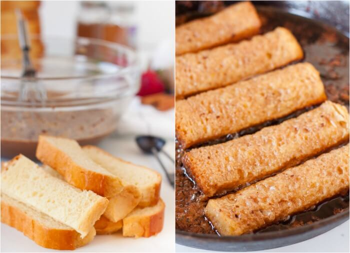 COOKING FRENCH TOAST STICKS