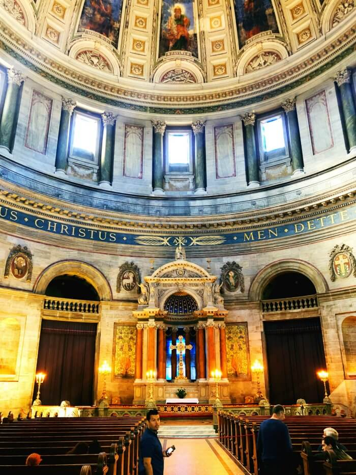 CHURCH IN COPENHAGEN