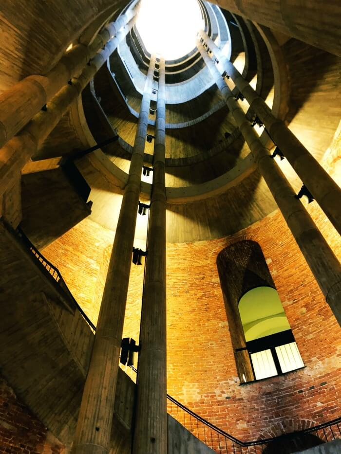 SPIRAL STAIRCASE IN BERLIN GERMANY