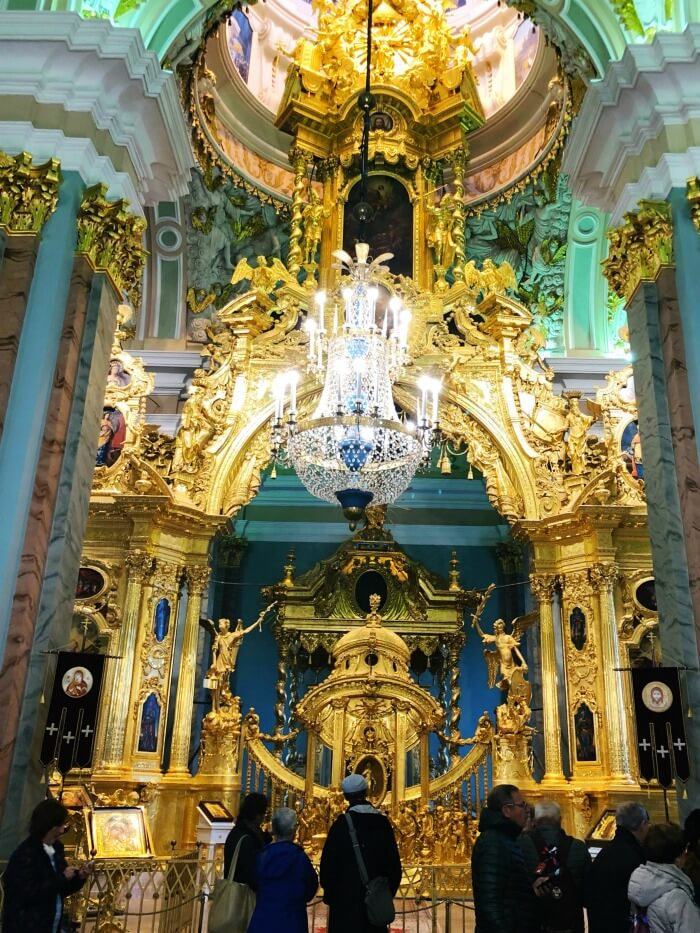 TOUR OF CATHEDRAL ST PETERSBURG