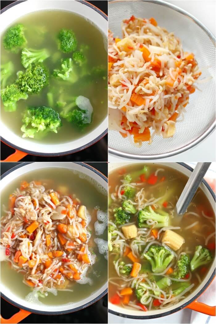 HOW TO MAKE CHOW MEIN STEP BY STEP