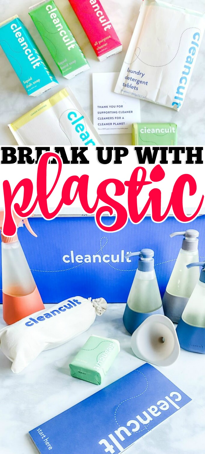 CLEANCULT - BREAKUP WITH PLASTIC