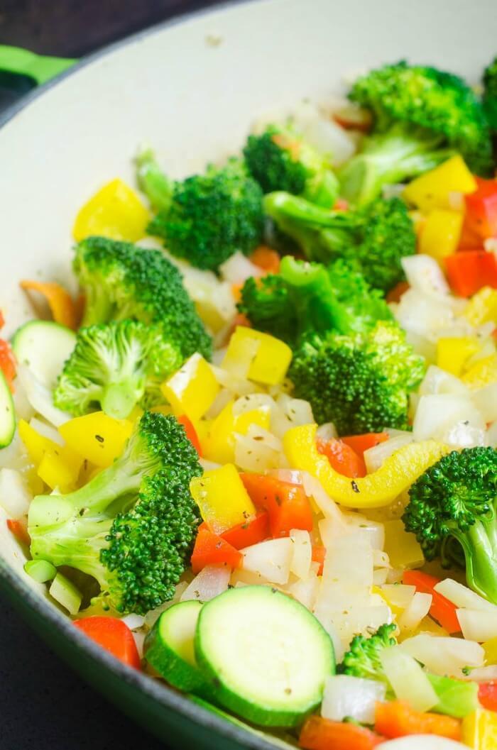 SAUTEED VEGETABLES RECIPE