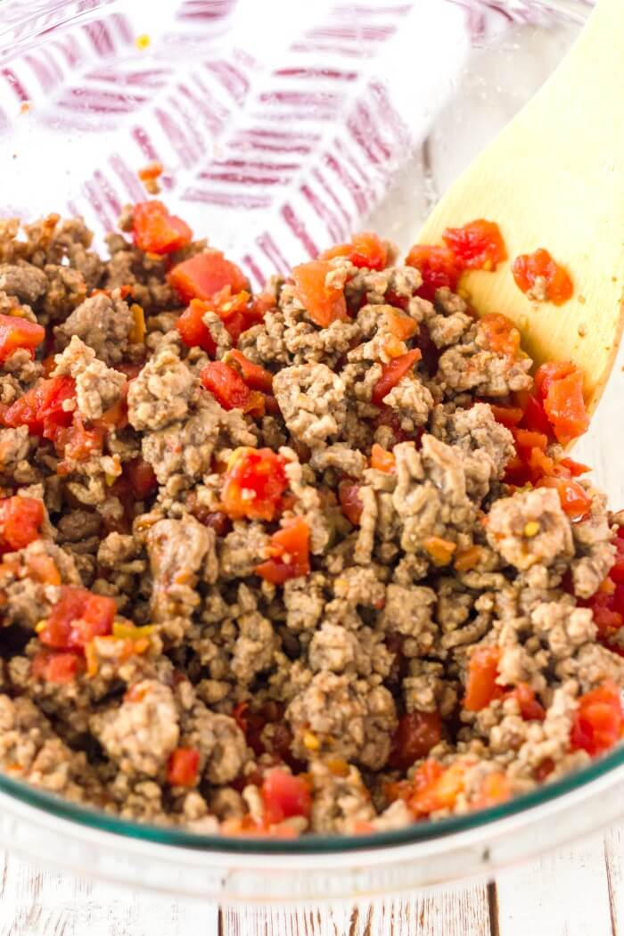 GROUND BEEF FOR MEXICAN PIZZA
