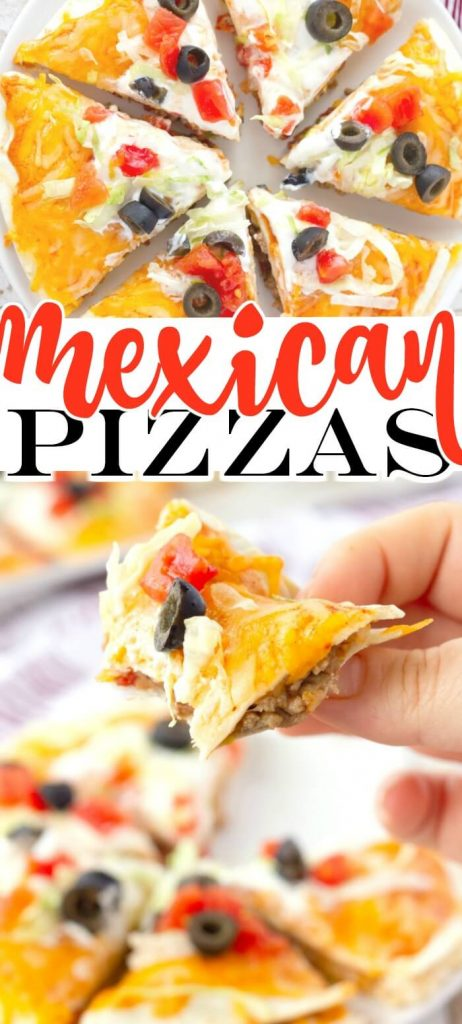 MEXICAN PIZZAS RECIPE
