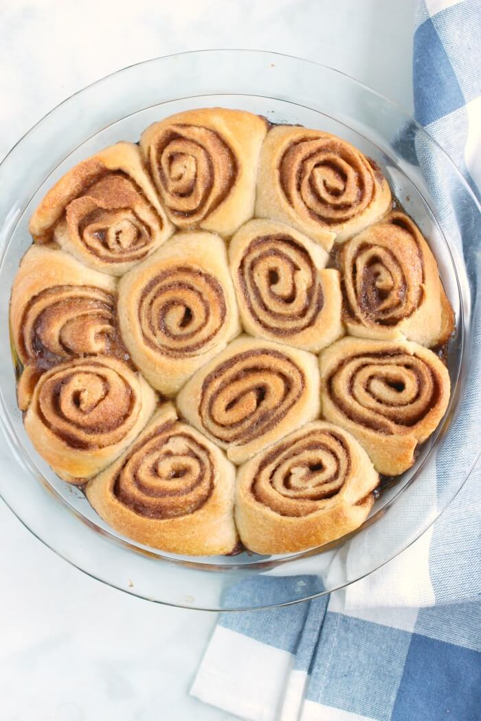 CINNAMON ROLLS WITH CRESCENT DOUGH