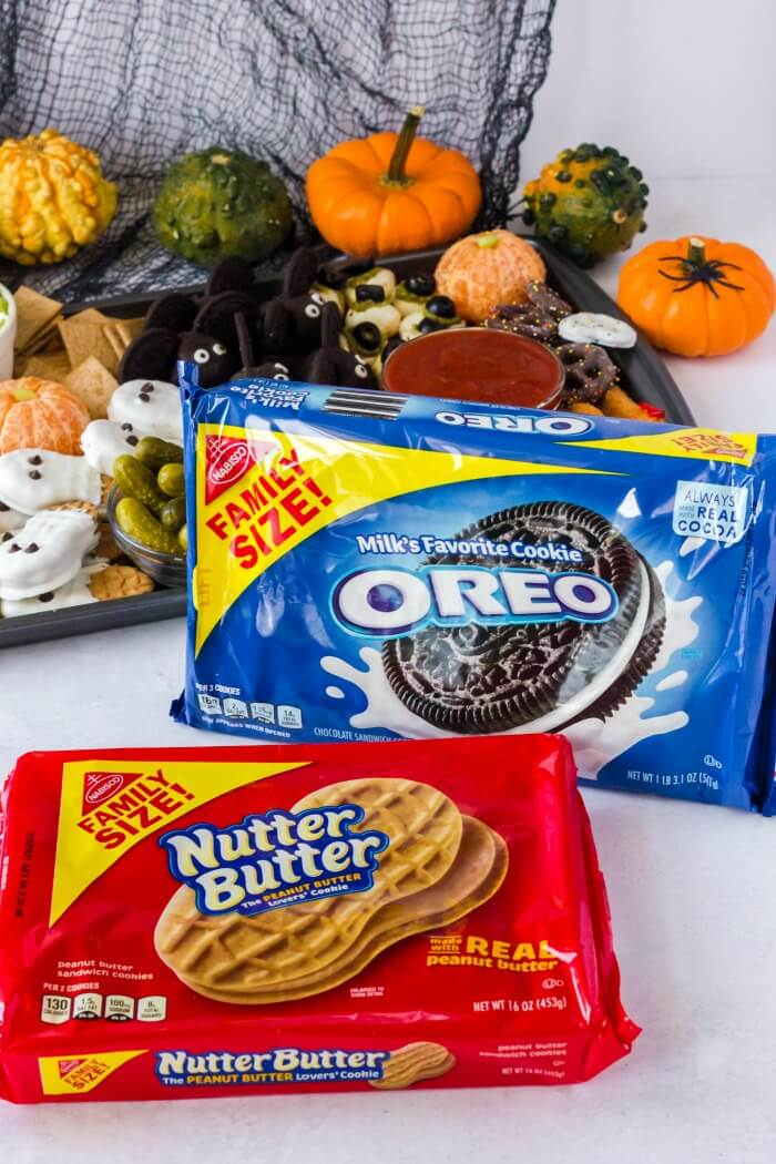 OREO AND NUTTER BUTTER PACKAGES