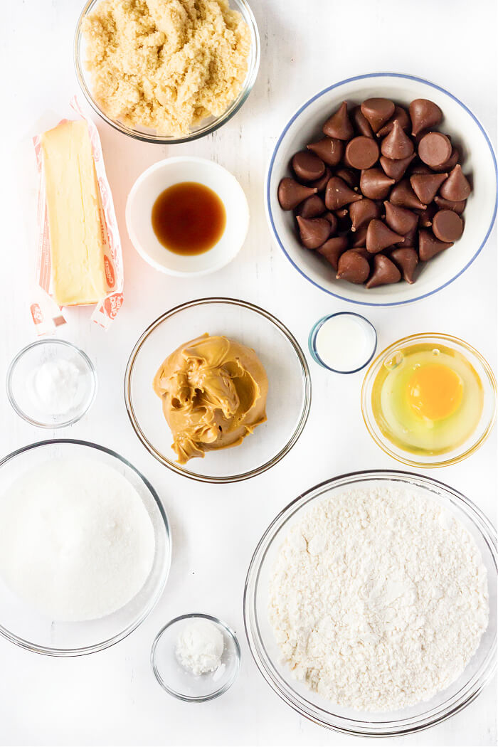 PEANUT BUTTER BLOSSOM INGREDIENTS