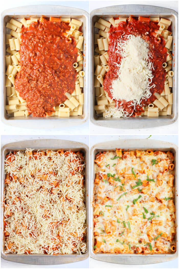 HOW TO MAKE BAKED RIGATONI
