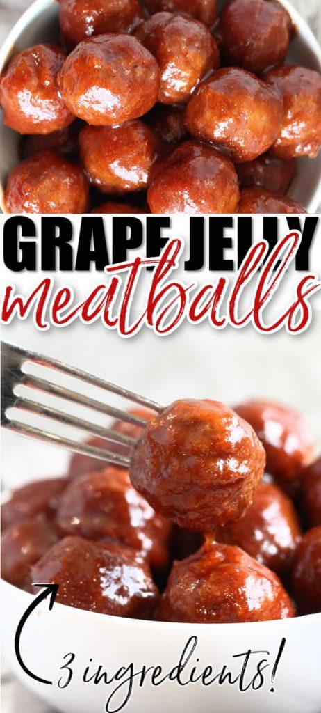 EASY GRAPE JELLY MEATBALL RECIPE