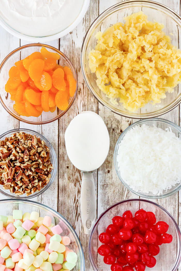 AMBROSIA SALAD INGREDIENTS