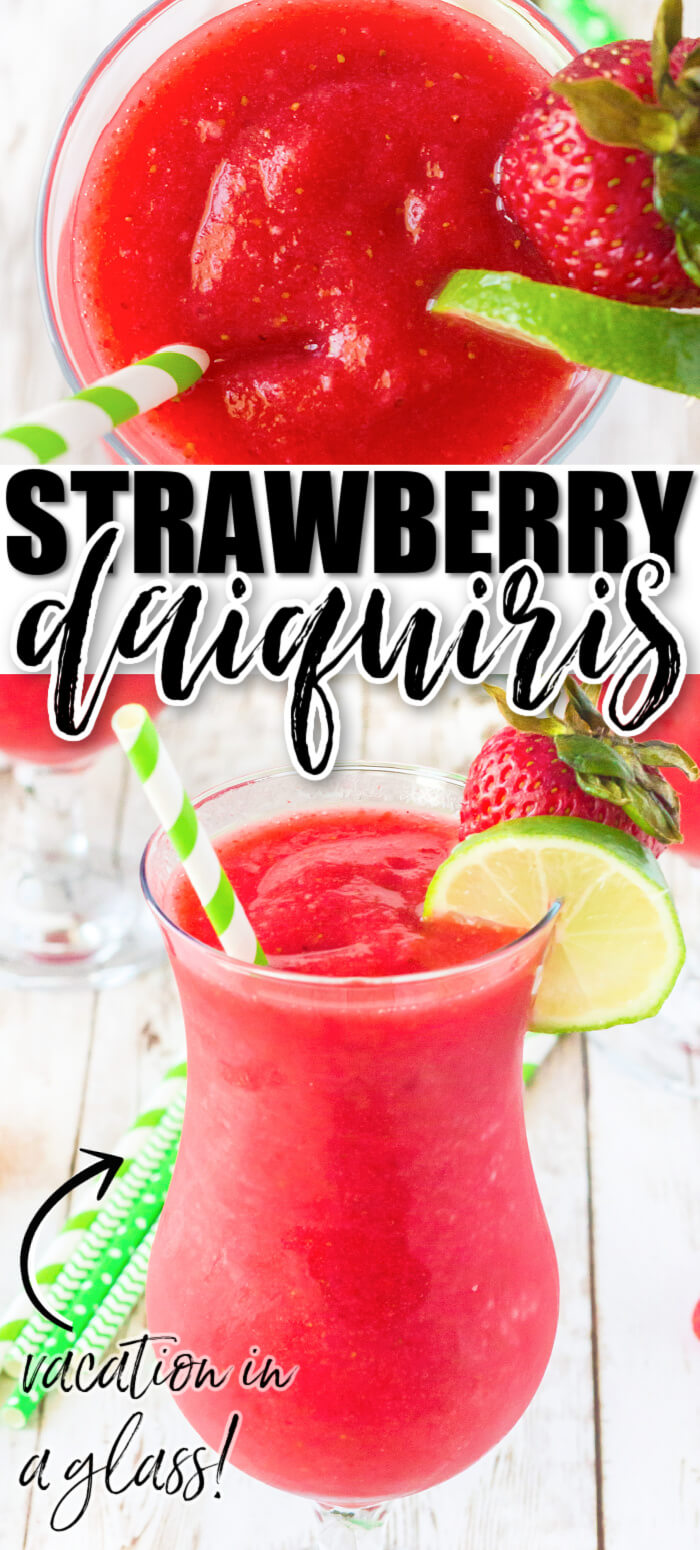BEST STRAWBERRY DAIQUIRI RECIPE