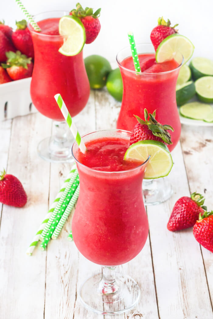 HOMEMADE STRAWBERRY DAIQUIRI