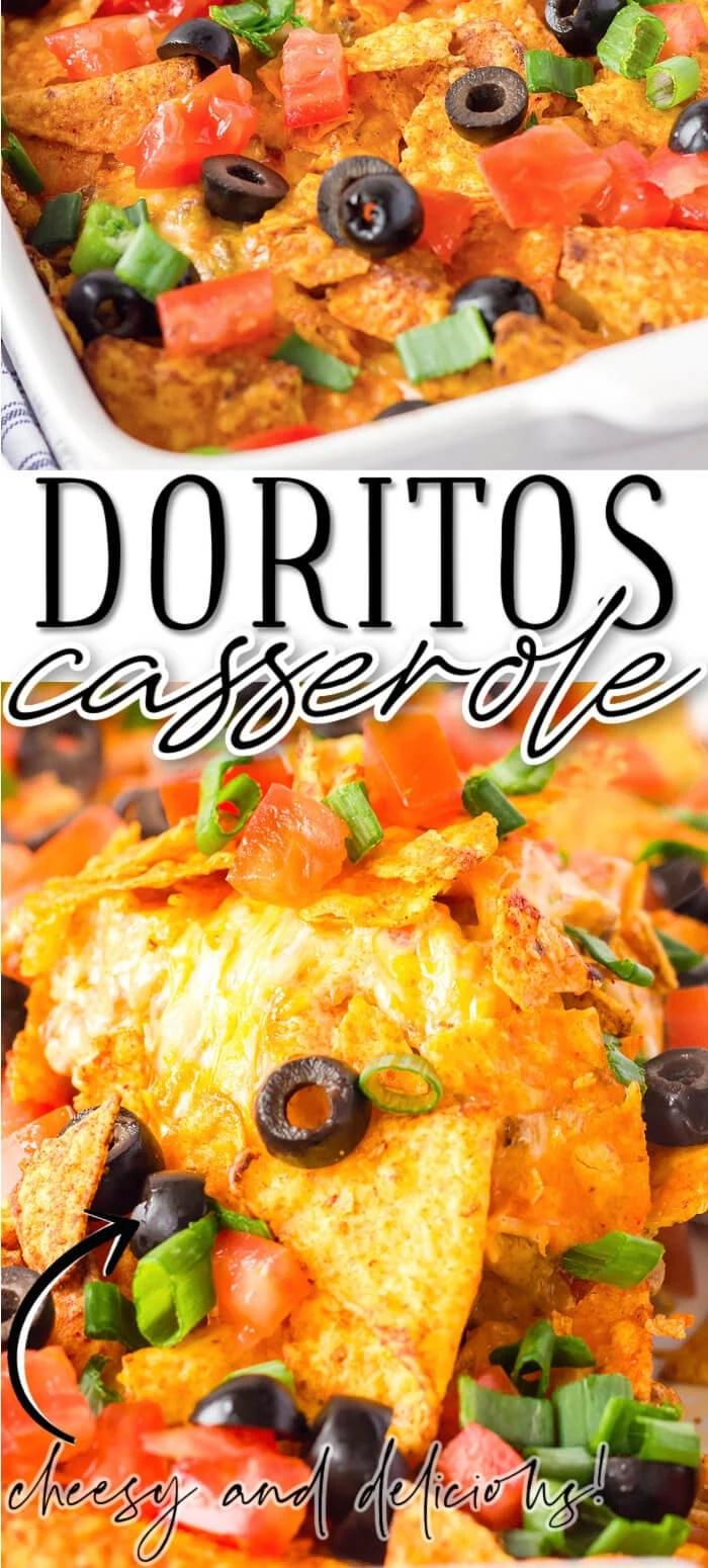 EASY DORITO CASSEROLE RECIPE