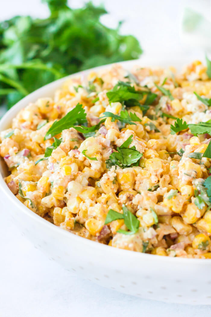 RECIPE FOR MEXICAN STREET CORN SALAD